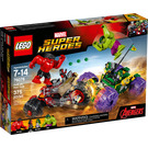 LEGO Hulk Vs. Red Hulk Set 76078 Packaging