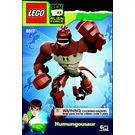 LEGO Humungousaur Set 8517 Instructions