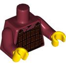 LEGO Hun Warrior Minifig Torso (973 / 88585)