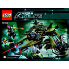 LEGO Hurricane Heist Set 70164 Instructions