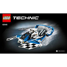 LEGO Hydroplane Racer Set 42045 Instructions