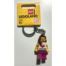 LEGO I love LEGOLAND keychain, female (851330)