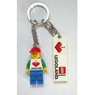 LEGO I Love LEGOLAND keychain, Male (850456)
