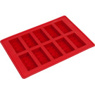 LEGO Ice Cube Tray - Bricks (Red) (852768)