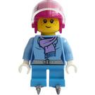 LEGO Ice Hockey Player Girl Minifigure