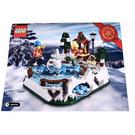 LEGO Ice Skating Rink Set 40416 Instructions