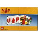 LEGO Iconic VIP Set 40178 Instructions