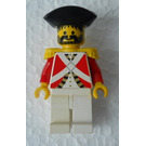 LEGO Imperial Guard Officer with Black Triangular Hat Minifigure