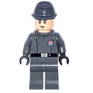 LEGO Imperial Officer Commander with Black Belt with Silver Buckle Minifigure