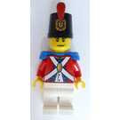 LEGO Imperial Soldier with Decorated Shako Hat and Blue Epaulettes Minifigure