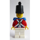 LEGO Imperial Soldier with Plain Shako from the Pirates Advent Calendar 2009 Minifigure
