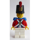authentic LEGO minifigure Imperial Soldier II pi104 6239 stubble grin pirates