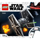 LEGO Imperial TIE Fighter Set 75300 Instructions