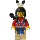 LEGO Indian with Red Shirt and Quiver Minifigure