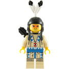 LEGO Indian with Tan Shirt and Quiver Minifigure