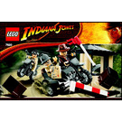 LEGO Indiana Jones Motorcycle Chase Set 7620 Instructions