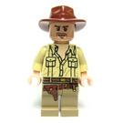 LEGO Indiana Jones with Open Shirt Minifigure
