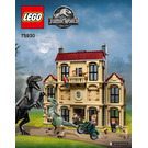 LEGO Indoraptor Rampage at Lockwood Estate Set 75930 Instructions