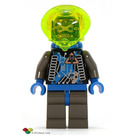 LEGO Insectoid with Blue / Yellow Helmet Minifigure