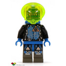 LEGO Insectoids with Airtanks Minifigure Head with Copper Glasses and Headset