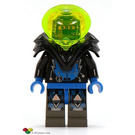 LEGO Insectoids with Black Armor Minifigure Head with Copper Glasses