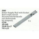LEGO Insulating Track Plus Socket 12 V (Isolating Rail) Set 5085