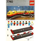 LEGO Inter-City Passenger Train Set 7740 Instructions