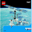 LEGO International Space Station Set 7467 Instructions