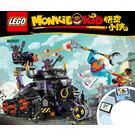 LEGO Iron Bull Tank Set 80007 Instructions