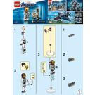 LEGO Iron Man and Dum-E Set 30452 Instructions