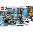 LEGO Iron Man Armory Set 76167 Instructions