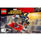 LEGO Iron Man: Detroit Steel Strikes Set 76077 Instructions