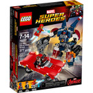 LEGO Iron Man: Detroit Steel Strikes Set 76077 Packaging