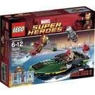 LEGO Iron Man: Extremis Sea Port Battle  Set 76006 Packaging