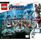 LEGO Iron Man Hall of Armour Set 76125 Instructions