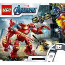 LEGO Iron Man Hulkbuster versus A.I.M. Agent Set 76164 Instructions