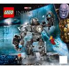 LEGO Iron Man: Iron Monger Mayhem Set 76190 Instructions