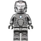 LEGO Iron Man Mark 2 Armor (Trans-Clear Head) Minifigure