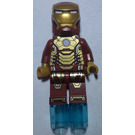 LEGO Iron Man Mark 42 Armor Minifigure with Plain White Head