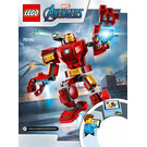 LEGO Iron Man Mech Set 76140 Instructions