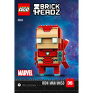 LEGO Iron Man MK50 Set 41604 Instructions