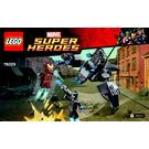 LEGO Iron Man vs. Ultron Set 76029 Instructions