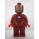 LEGO Iron Man with Dark Red Suit Minifigure