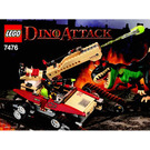 LEGO Iron Predator vs. T-Rex Set 7476 Instructions