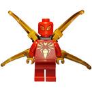 LEGO Iron Spider - Black Outlined Gold Emblem Minifigure