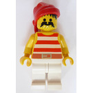 LEGO Island Pirate with Large Moustache Minifigure
