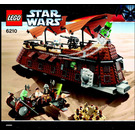 LEGO Jabba's Sail Barge Set 6210 Instructions