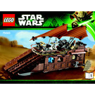LEGO Jabba's Sail Barge Set 75020 Instructions