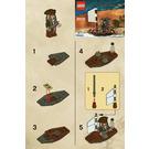 LEGO Jack Sparrow's Boat Set 30131 Instructions