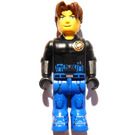 LEGO Jack Stone with Black Jacket and Blue Pants Minifigure